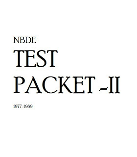 nbde part 2 released exams pdf