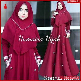 UTM186S75 Baju Sophia Muslim Syari UTM186S75 0BA | Terbaru BMGShop