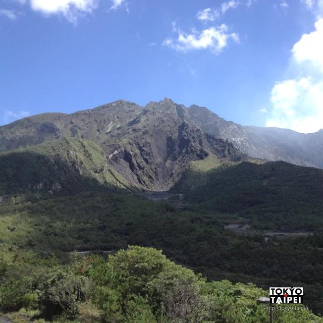 【湯之平展望所】距離櫻島火山口最近的展望所 看遠看近都很震撼