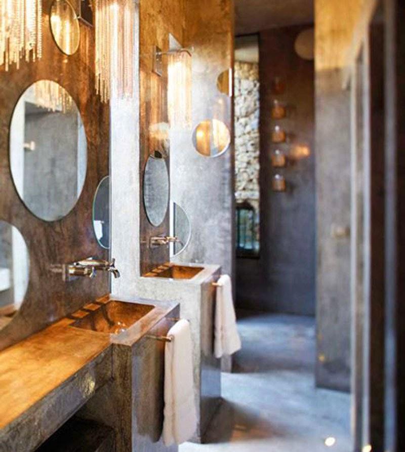 Espejos sin marco 39 vintage 39 o actuales para decorar tus for Espejo pared completa