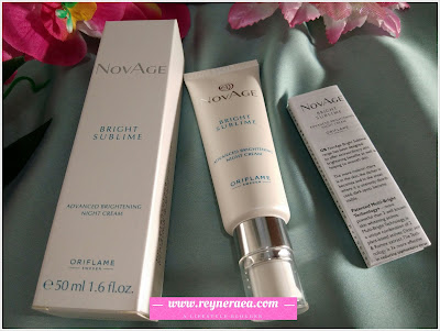 NovAge Bright Sublime Advanced Brightening Night Cream SPF20 (code : 32658)