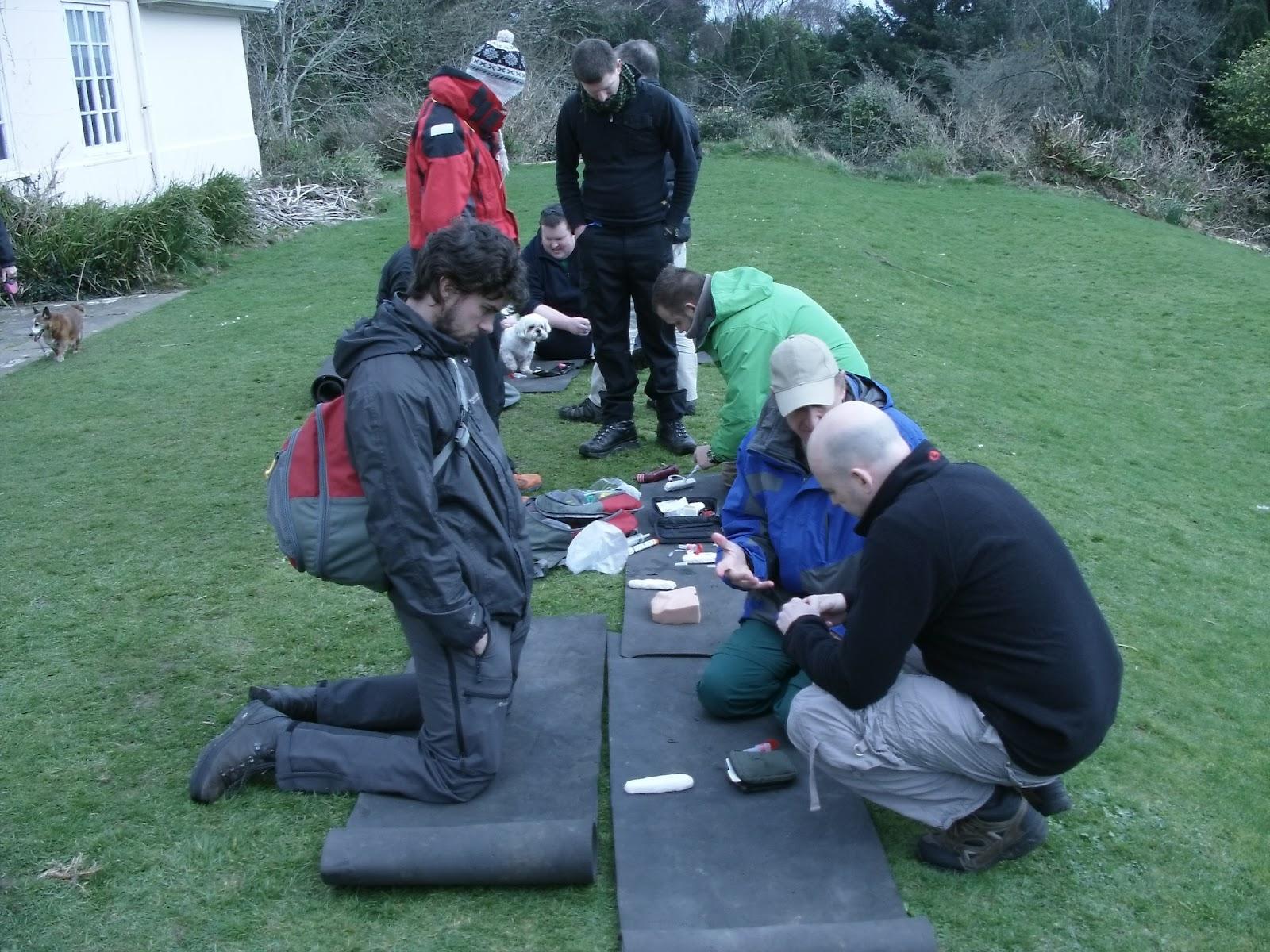Remote Medicine Ireland: Remote EMT Course March. 2012