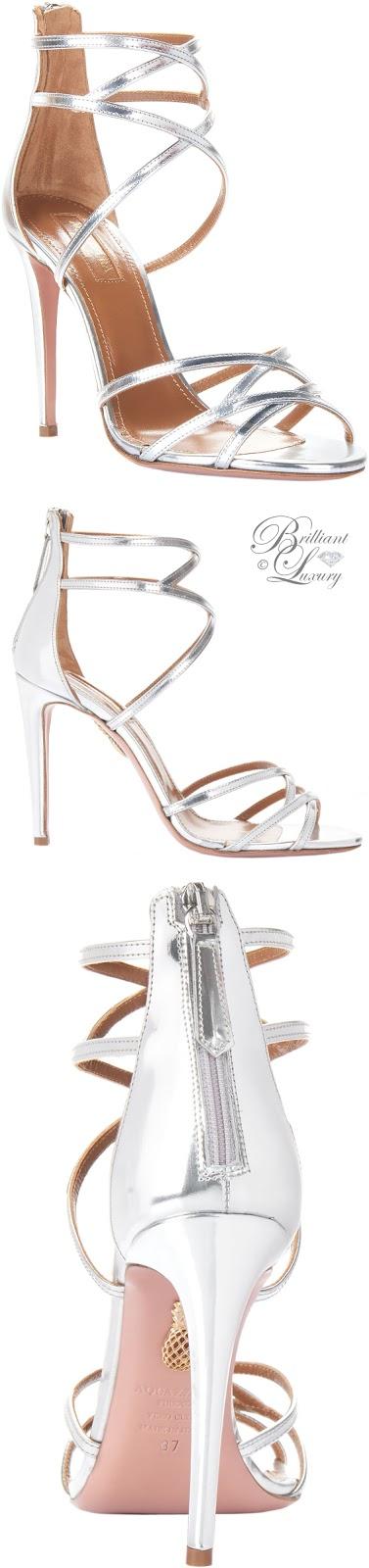 Brilliant Luxury ♦ Aquazzura Dutchesse Sandals