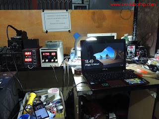 Servis Laptop Asus A43S Mati Total