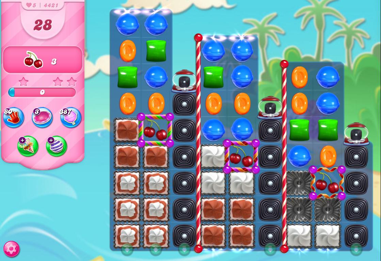 Candy Crush Saga level 4421