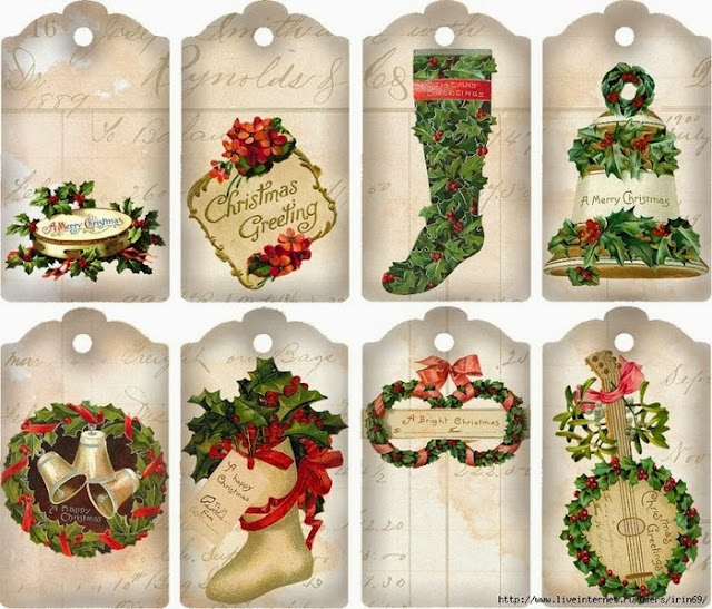 Free Printable Retro Christmas Tags And Labels Oh My