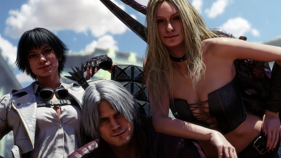 Devil May Cry 5, Dante, Lady, Trish, 4K, #5.1761
