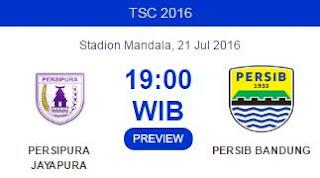 Prediksi Persipura vs Persib Bandung