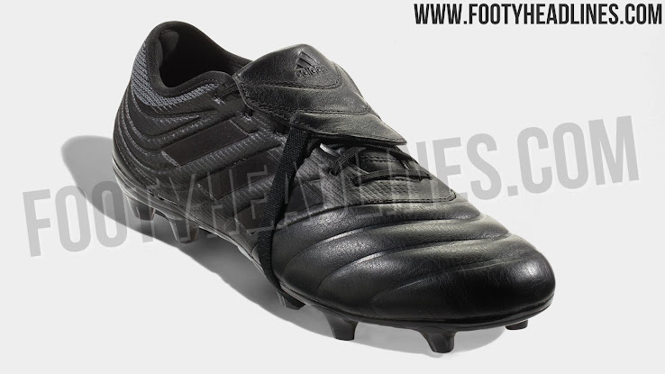 c8ecb5114f704 This picture shows the blackout Adidas Copa Gloro Archetic Pack cleat.