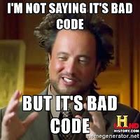 bad code programming