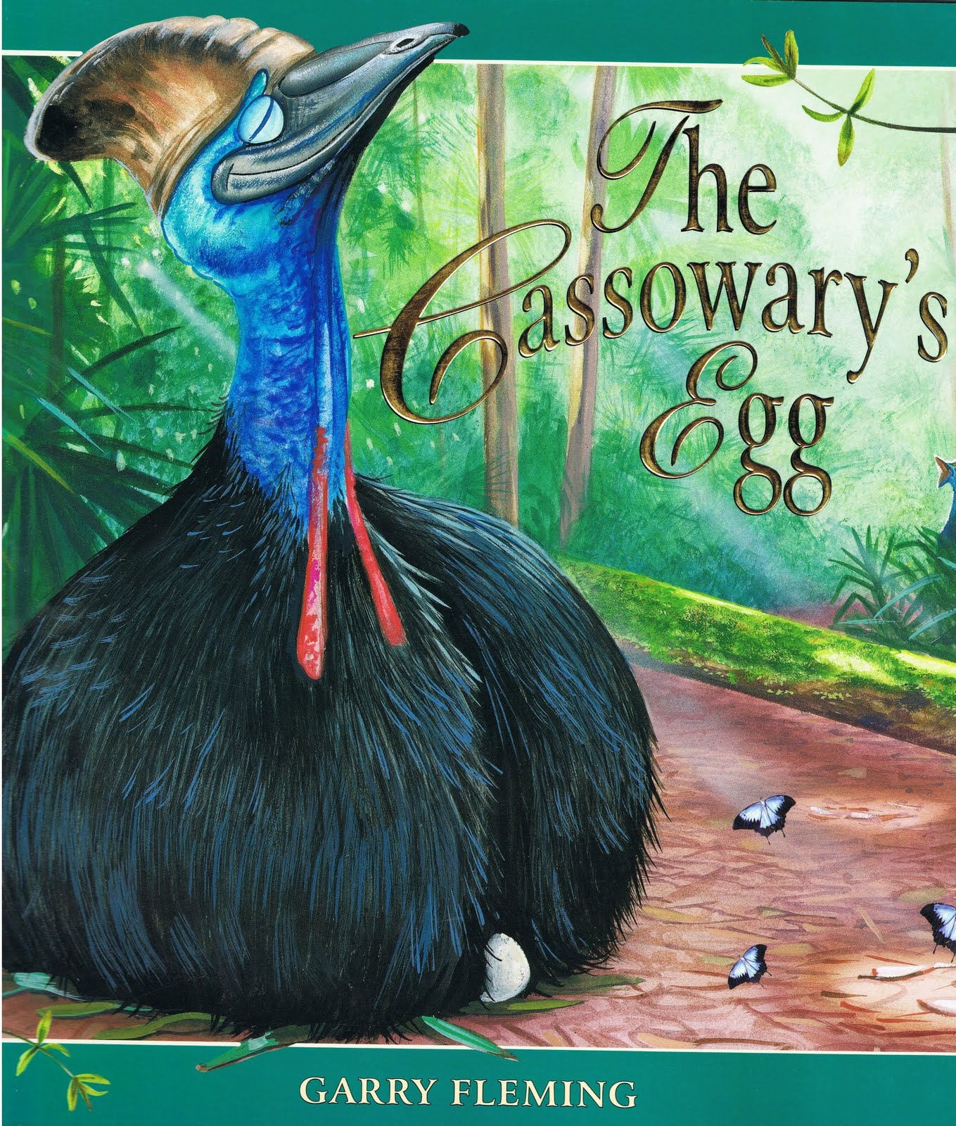 Little Library Of Rescued Books: The Cassowary's Egg By