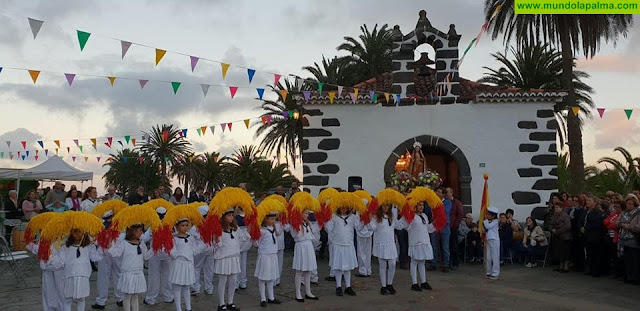 Fervor y devoción por Santa Lucía volvieron ayer en Puntallana