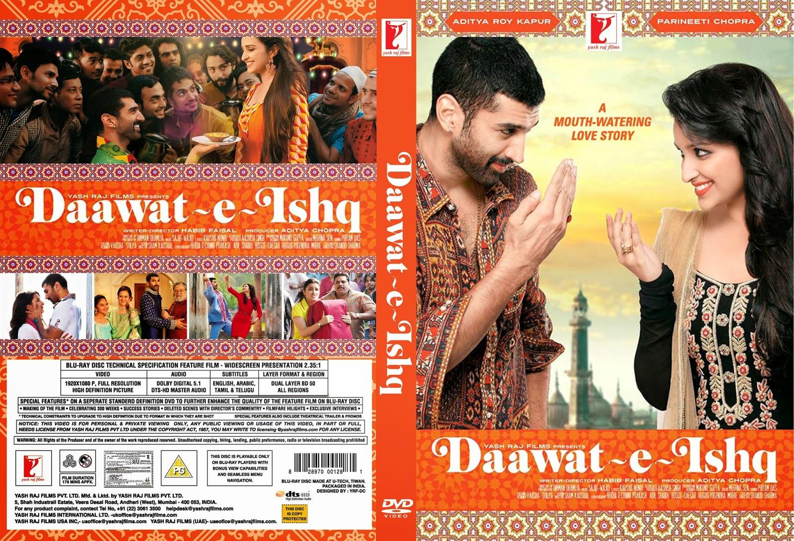 Daawat-e-Ishq (2014) 1CD DvDSCR - Torrent 720p Movies Daawat E Ishq