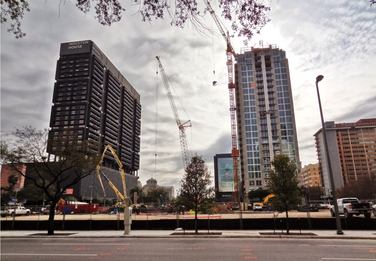 Houston Apartments New Highrise And Midrise Luxury Apartment Buildings Coming In