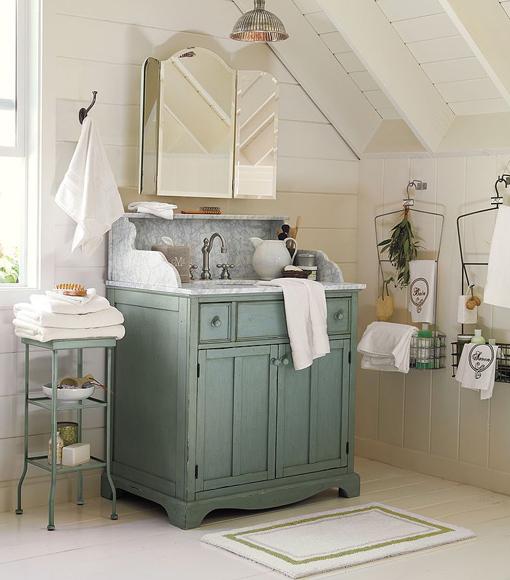decoracion baos estilo shabby chicmuebles vintage para el lavabo decoracion baos estilo shabby chic