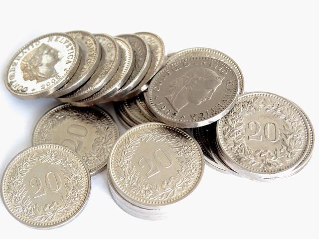 Monedas Plateadas
