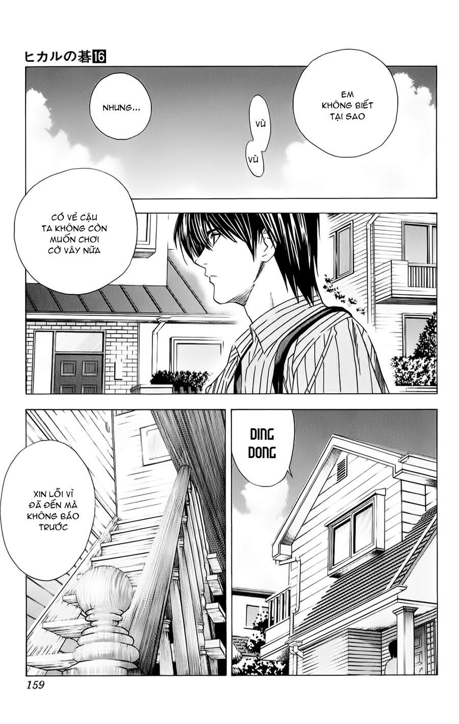 Hikaru No Go hikaru no go chap 138 trang 4