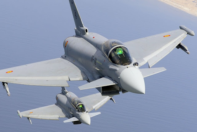 Aviationist Colombia Spanish Eurofighter Typhoon