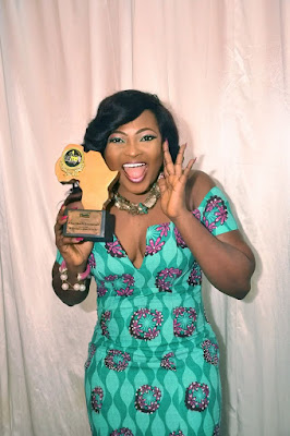 Actress Nkechi Emmanuel (Nurse Titi) bags Classic Africa Merit Award + Exclusive Photos