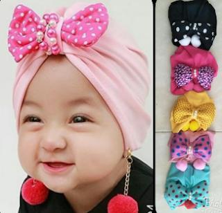 Tempat Jual Topi Bayi Perempuan