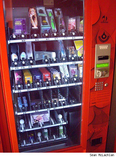 Vending Machine Sex Shop