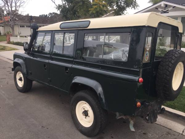 British 4x4, 1984 Land Rover Defender 110 for Sale - 4x4 Cars