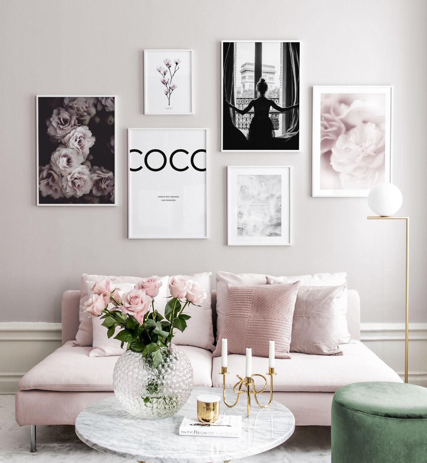 Poster Store: arredare casa con una gallery wall