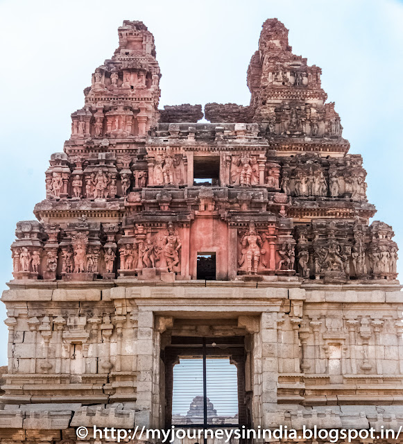 Hampi Vitthala Temple Tower