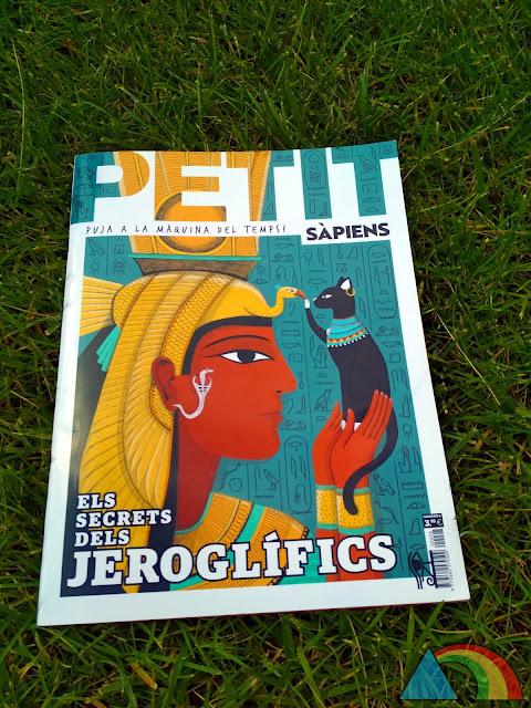 Portada de la revista Petit Sàpiens del mes de Junio
