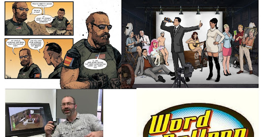 Archer's Neal Holman Goes Behind The Scenes & His Oni Press Sci-Fi War Comic Redlines