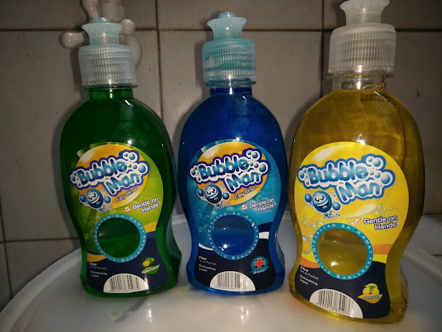 TSM Recommends: Bubble Man Dishwashing Liquid