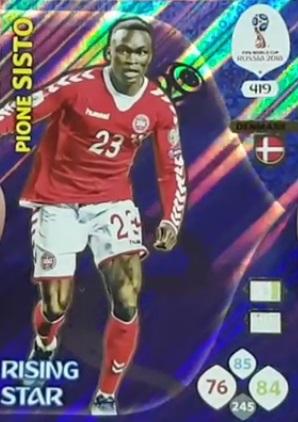 Panini Copa del Mundo 2018 versión para Suiza de oro Perú Nº 243 Renato Tapia