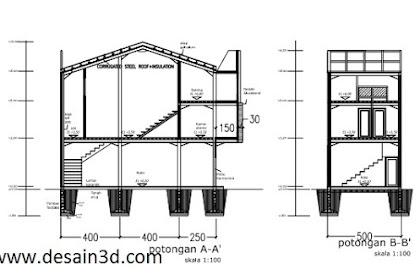 Jasa desain autocad 2d murah berkualitas