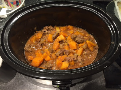 Slow Cooker Beef and Butternut Squash Stew ingredients