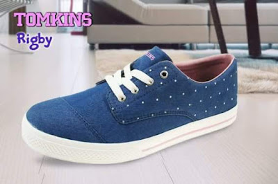 Tomkins Rigby Blue Pink