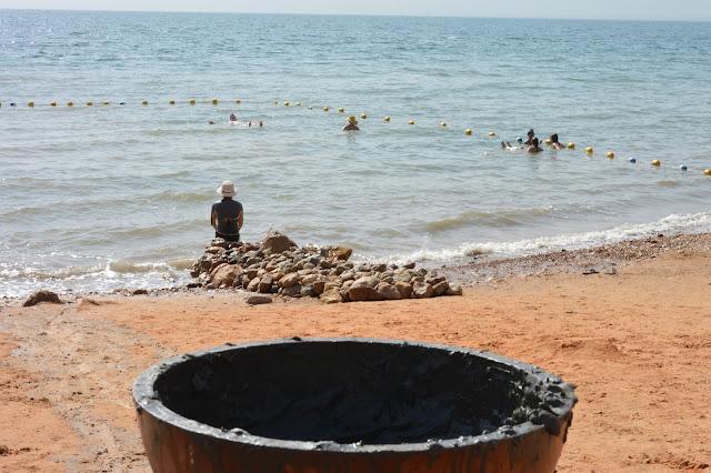 Boue à la mer Morte