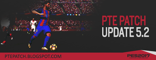 Option File PES 2017 untk PTE 5.2 dari Sofyan update 5-5-2017