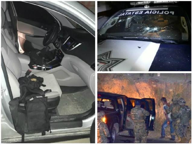 FOTOS Sorprende enfrentamiento entre Marinos y sicarios anoche en #LosCabos