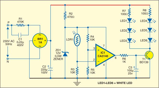 Simple Strip LED Lamp