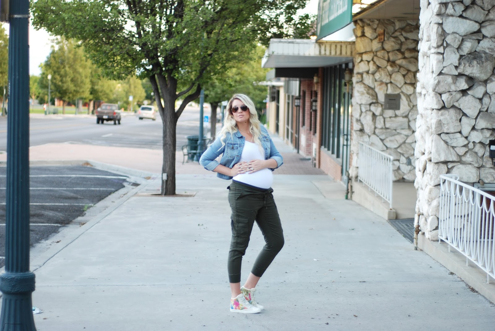 FRAU Shoes, Aeropostale, Pregnant Outfit