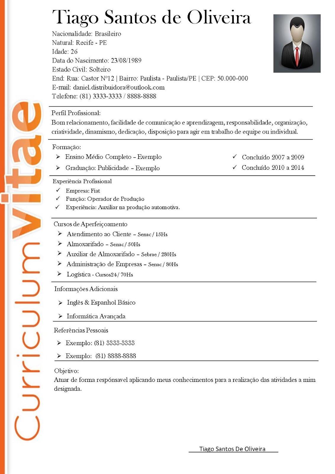 Curriculum Vitae Para Preencher Gratis Word    Stallone Pl