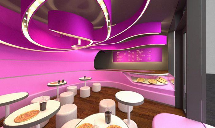 thiết kế nhà hàng vui nhộn trẻ chung giới trẻ 1