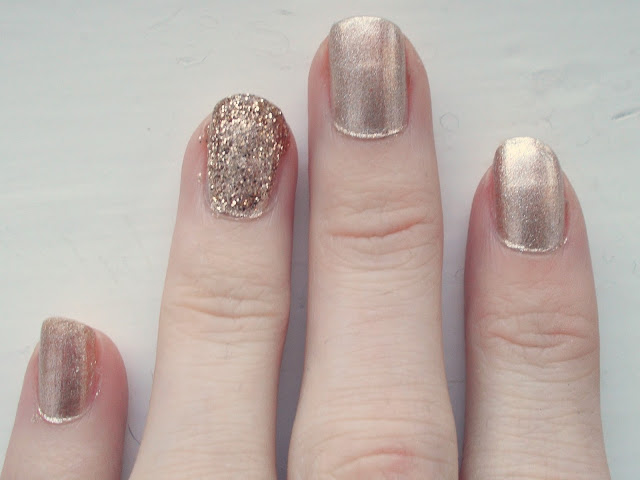 NOTD: Ted Baker Golden Girl Duo
