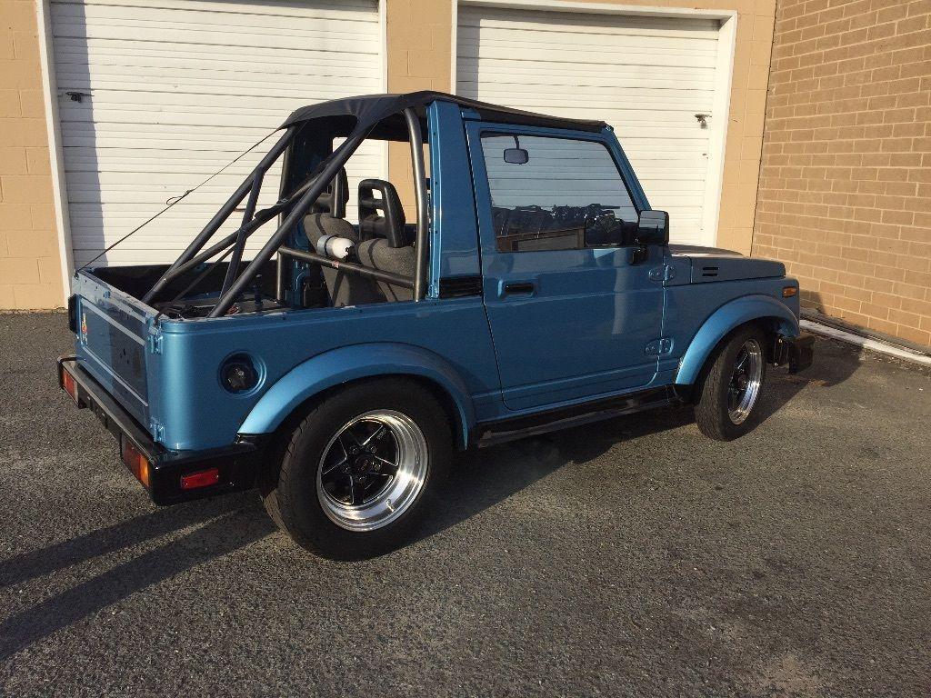 Drag Car Four Doors Of Suzuki Samurai