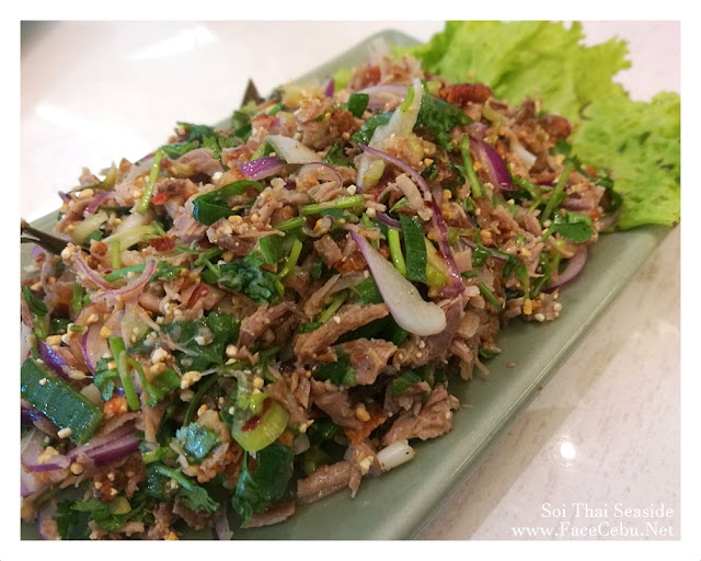 Minced Roasted Duck Salad
