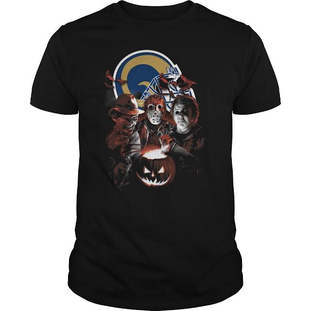 Los Angeles Rams Halloween Scream Team Shirt