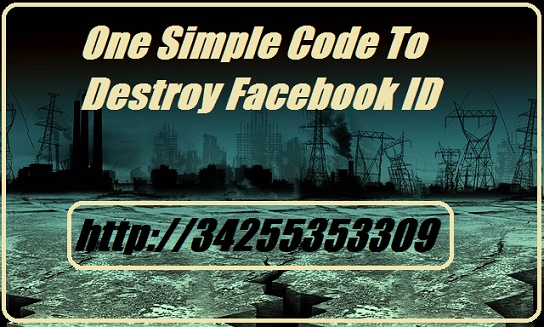 Facebook Ka Sab Se Dangerous Code Jo Facebook Account Ko Sirf 2 Second Me Destroy Ya Crash Kar Sakta Hai