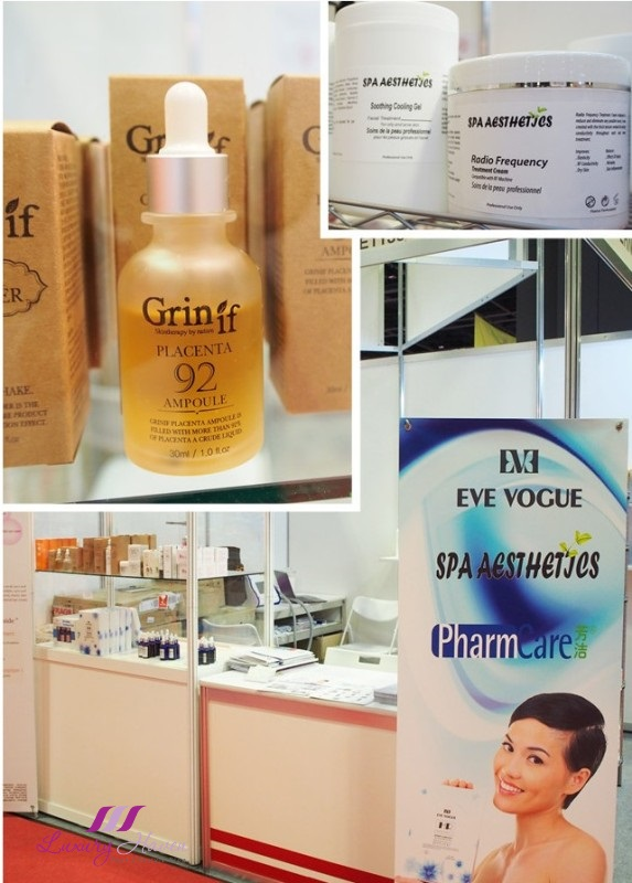 beautyasia 2016 koz international spa aesthetics grinif placenta