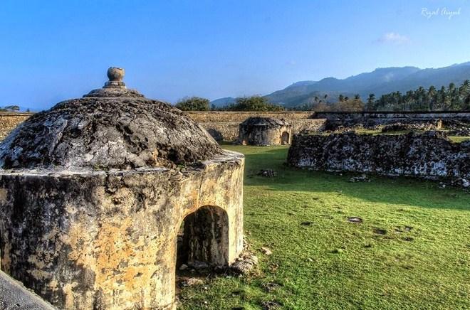 Wisata Sejarah Benteng Indra Patra Krueng Raya  Visit Aceh