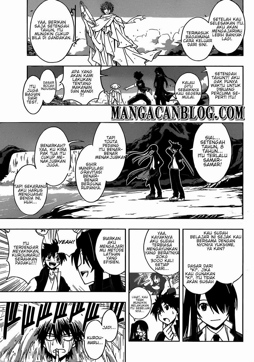 Baca Komik UQ Holder! Chapter 10 Bahasa Indonesia